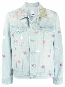 SJYP star spangle denim jacket - Blue
