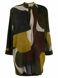 Eres colour-block blouse - Brown