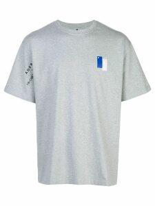 Ader Error x 10 Corso Como logo T-shirt - Grey