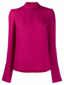 Joseph long-sleeve relaxed blouse - Purple