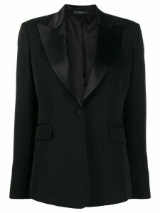 Paul Smith satin lapel jacket - Black