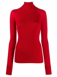 Escada turtleneck slim-fit jumper - Red