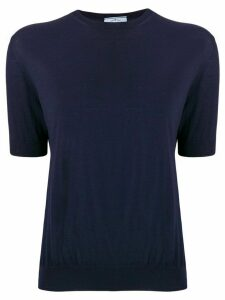 Prada fine knit jumper - Blue