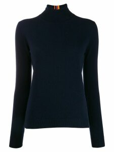 Paul Smith roll-neck sweater - Blue