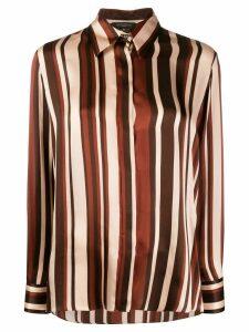 Antonelli Clayton striped shirt - NEUTRALS