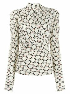 Isabel Marant Jalford top - NEUTRALS