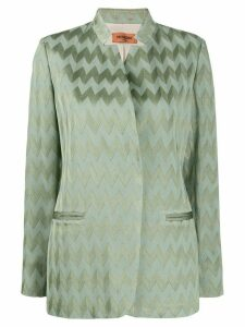 Missoni jacquard effect jacket - Green