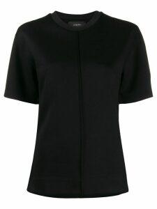 Joseph raised seam T-shirt - Black