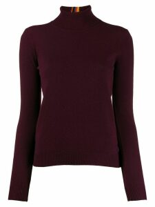 Paul Smith funnel neck jumper - Red
