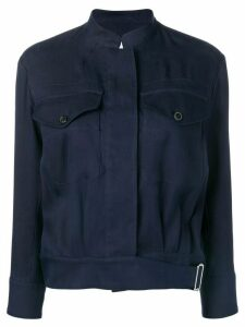 Paul Smith Mandarin collar jacket - Blue