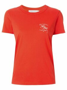 Nobody Denim Paradiso Nobody T-shirt - ORANGE