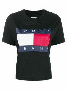 Tommy Jeans relaxed-fit flag logo T-shirt - Blue