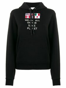 Burberry We Are All The Same Planet hoodie - Black