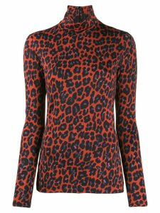 Paul Smith leopard print blouse - Red