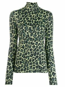 Paul Smith leopard print sweater - Yellow