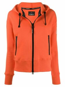 Peuterey zipped hoodie - ORANGE
