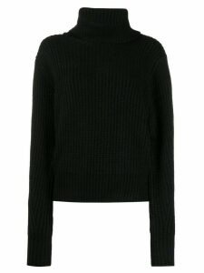 Essentiel Antwerp Toper roll neck jumper - Black