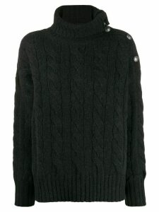 Polo Ralph Lauren cable-knit roll neck - Black
