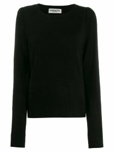 Essentiel Antwerp Tremal crew neck jumper - Black
