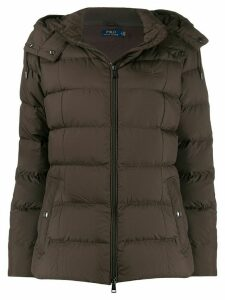 Polo Ralph Lauren hooded padded jacket - Brown