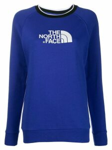 The North Face contrast collar sweatshirt - Blue