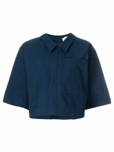 Thom Browne patch pocket polo shirt - Blue