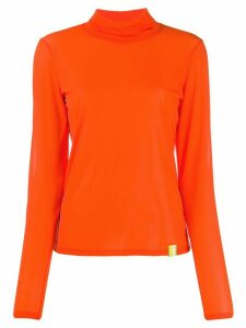 Aalto roll neck jumper - ORANGE