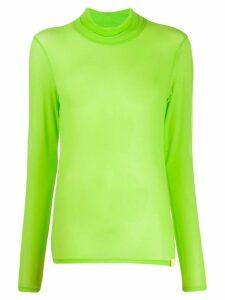 Aalto roll neck jumper - Green