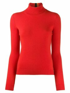 Paul Smith roll neck jumper - ORANGE