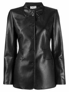 Coperni faux leather jacket - Black