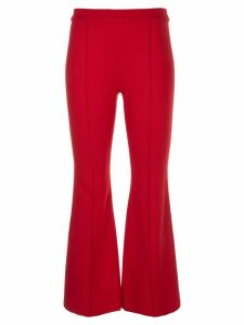 Rosetta Getty pull on flared trousers