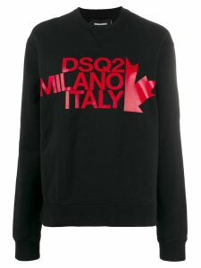 Dsquared2 printed sweatshirt - Black