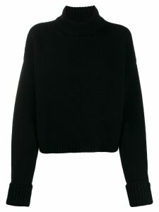 Maison Margiela knitted turtleneck jumper - Black