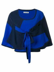 Henrik Vibskov tonal block blouse - Blue