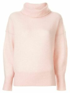 Paule Ka soft knit turtleneck jumper - PINK