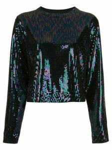 RtA sequin embroidered top - Black
