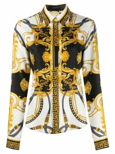 Versace Barocco print shirt - White