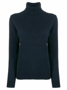N.Peal roll neck jumper - Blue