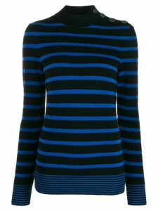 Stella McCartney Breton striped jumper - Black