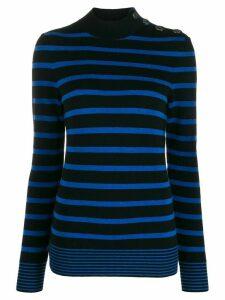 Stella McCartney Breton striped jumper - Black