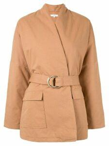 Venroy wrap jacket - Brown