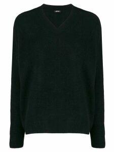 Aspesi v-neck jumper - Black