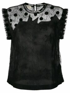 Zadig & Voltaire Tetro lace top - Black
