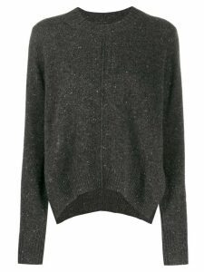 Isabel Marant speckled knit cashmere jumper - Grey