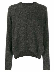Isabel Marant speckled knit cashmere jumper - Grey