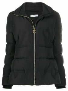 Versace Collection padded funnel-neck jacket - Black