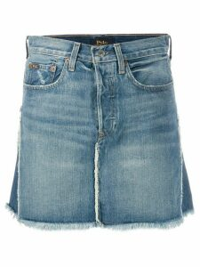 Polo Ralph Lauren two-tone denim skirt - Blue