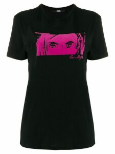 Karl Lagerfeld Karl X Carine T.shirt - Black