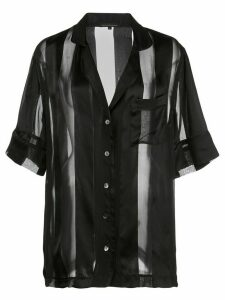 Kiki de Montparnasse short-sleeved shirt - Black