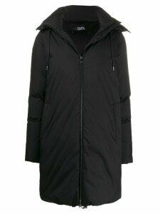 Karl Lagerfeld Karl x Carine puffer coat - Black